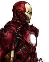 Iron Man Piece 2 by kazu-ren