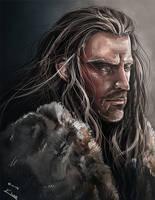 Thorin Oakenshield by kazu-ren