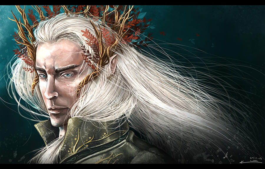 The Elvenking by Esthiell