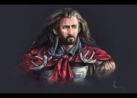 King Under The Mountain by kazu-ren
