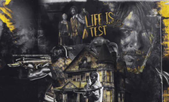 Life is always a test - Daryl Dixon