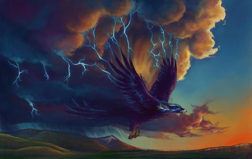 Native American Thunderbird the Thunderbird is