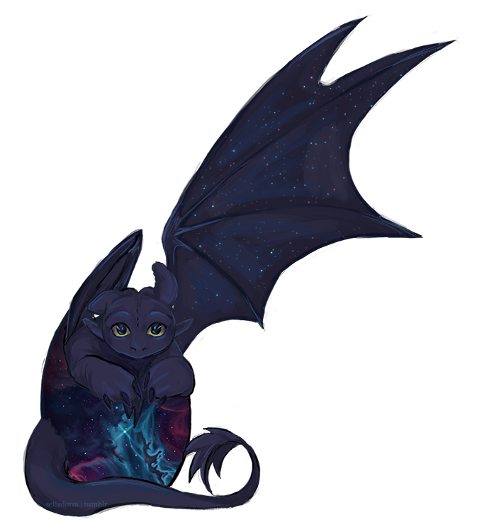 Baby Toothless by Selladorra on DeviantArt