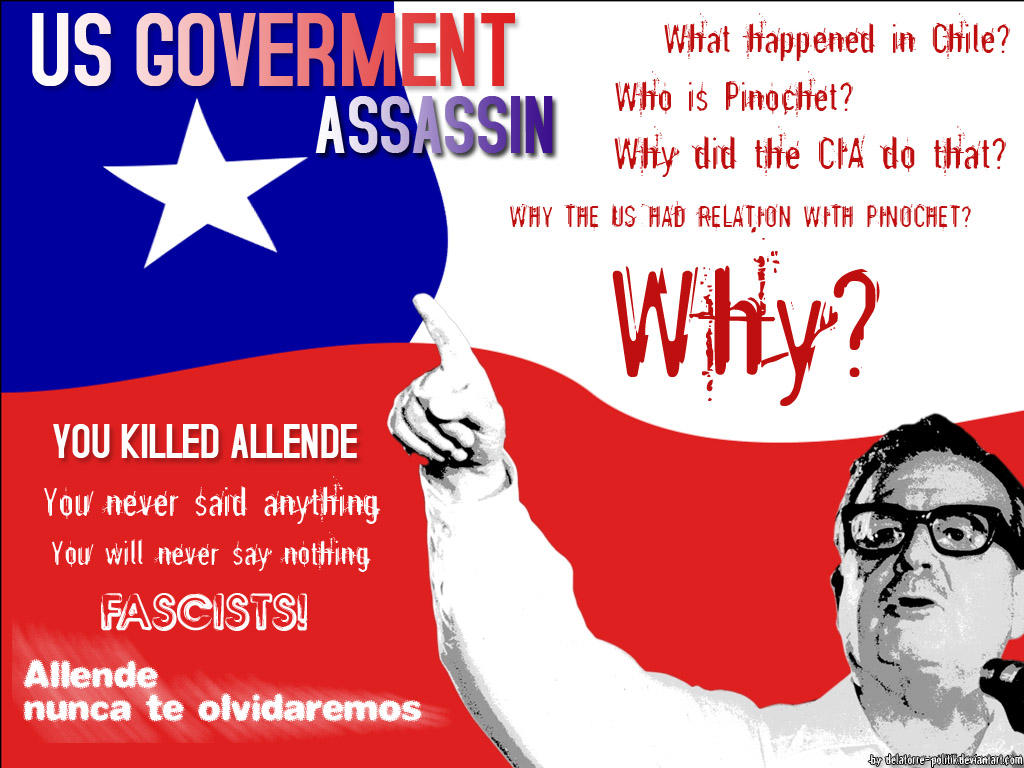 US Goverment killed Allende by delatorre-politik