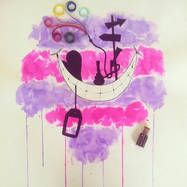 Cheshire Smile by AvengedHyuga