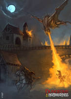 Chasing the Dragon by ArtDeepMind