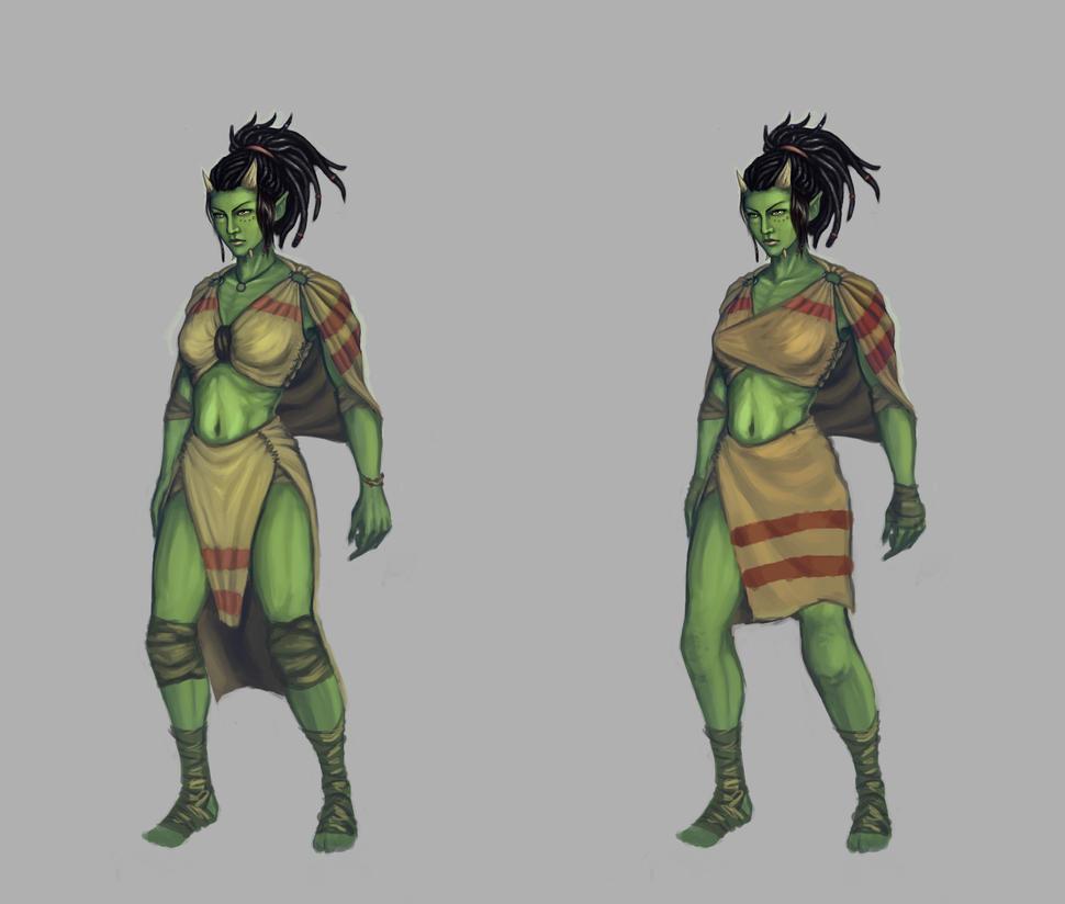 Orc woman by TSN551