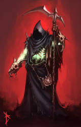 Grim Reaper by ArtDeepMind