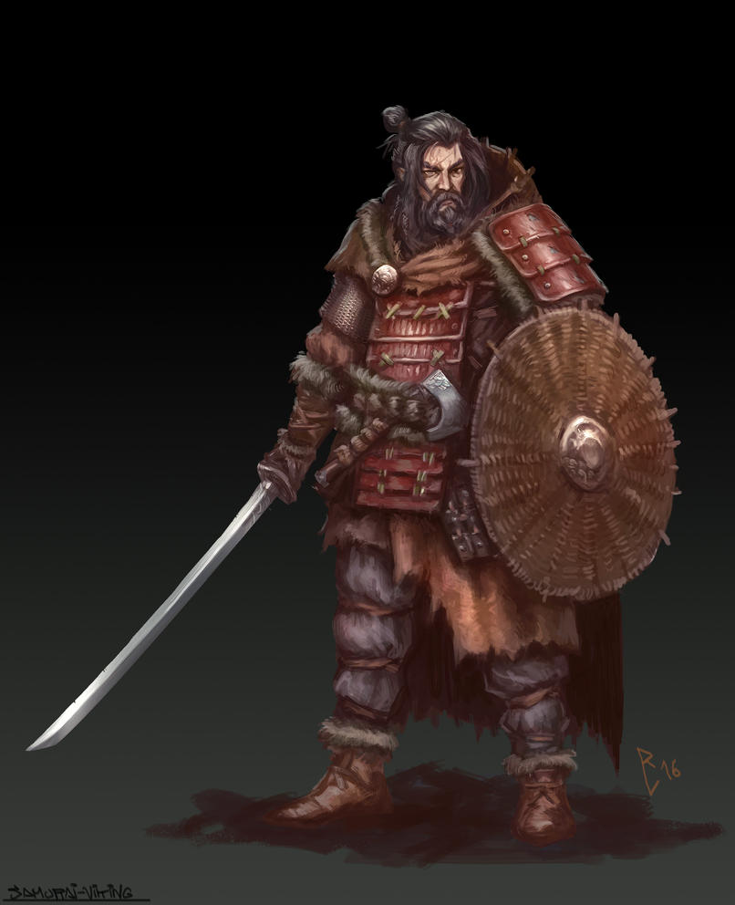 Samurai Viking By Artdeepmind On Deviantart