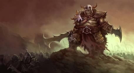 Orc Warrior by ArtDeepMind