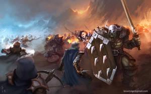 Fantasy War by ArtDeepMind