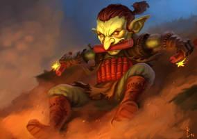 Goblin suicide bomber by ArtDeepMind
