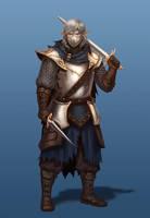 Elven Warrior by ArtDeepMind