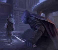 Rogue assassin by ArtDeepMind