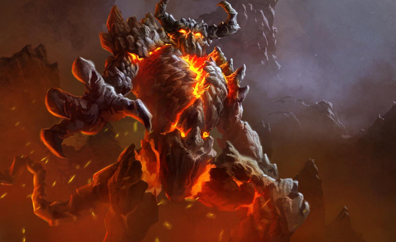 Lava Demon by ArtDeepMind