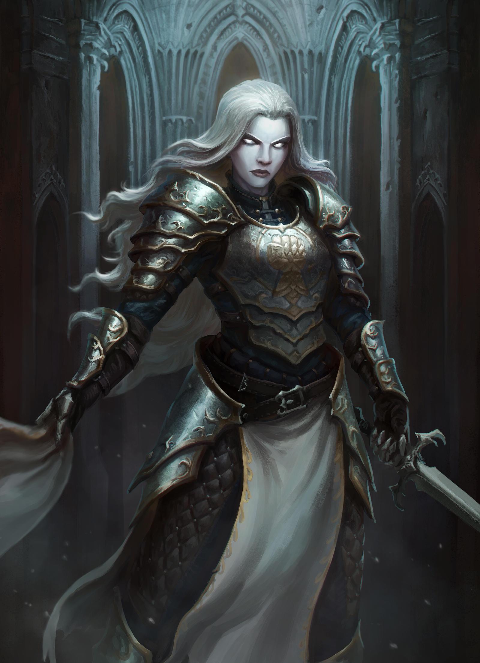 cursed cleric by artdeepmind on deviantart