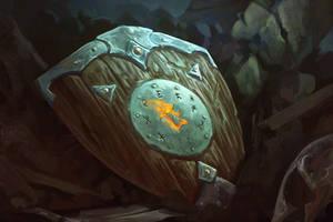 Magical shield by ArtDeepMind