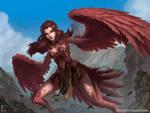Crimsonquill Harpy