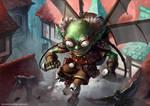 Goblin Engineer by ArtDeepMind