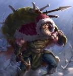 Santa the weapon dealer