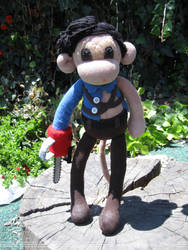 Ash - Army of Darkness Sock Monkey by REBELalaMODE