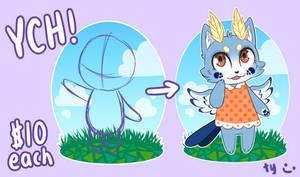 [YCH] Animal Crossing Style Chibi