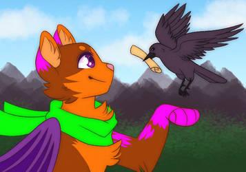 [OC]tober Day 12: Crow