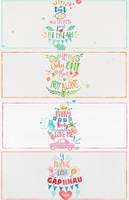 11715 Pack Typhography Watercolor