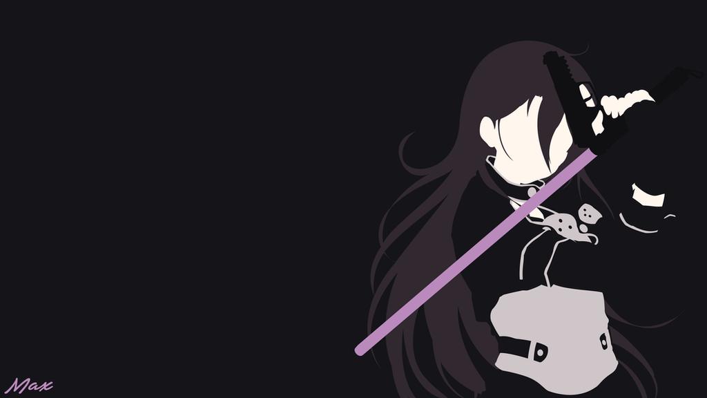 Kirito ggo sword art online 2 minimal wall 2 by max028 for Minimal art online