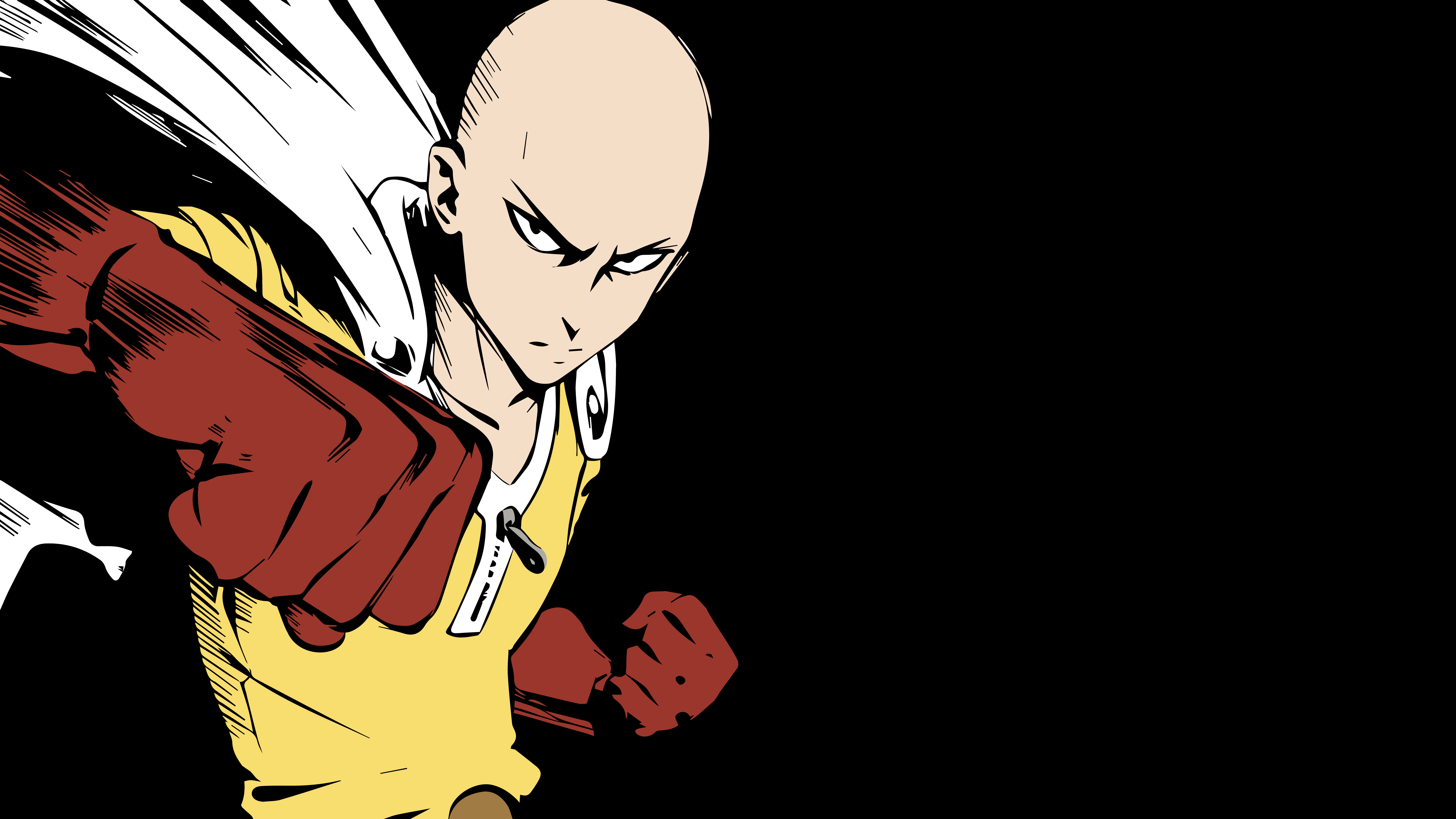 Saitama (One Punch Man) Vector Wallpaper by Max028 on ...