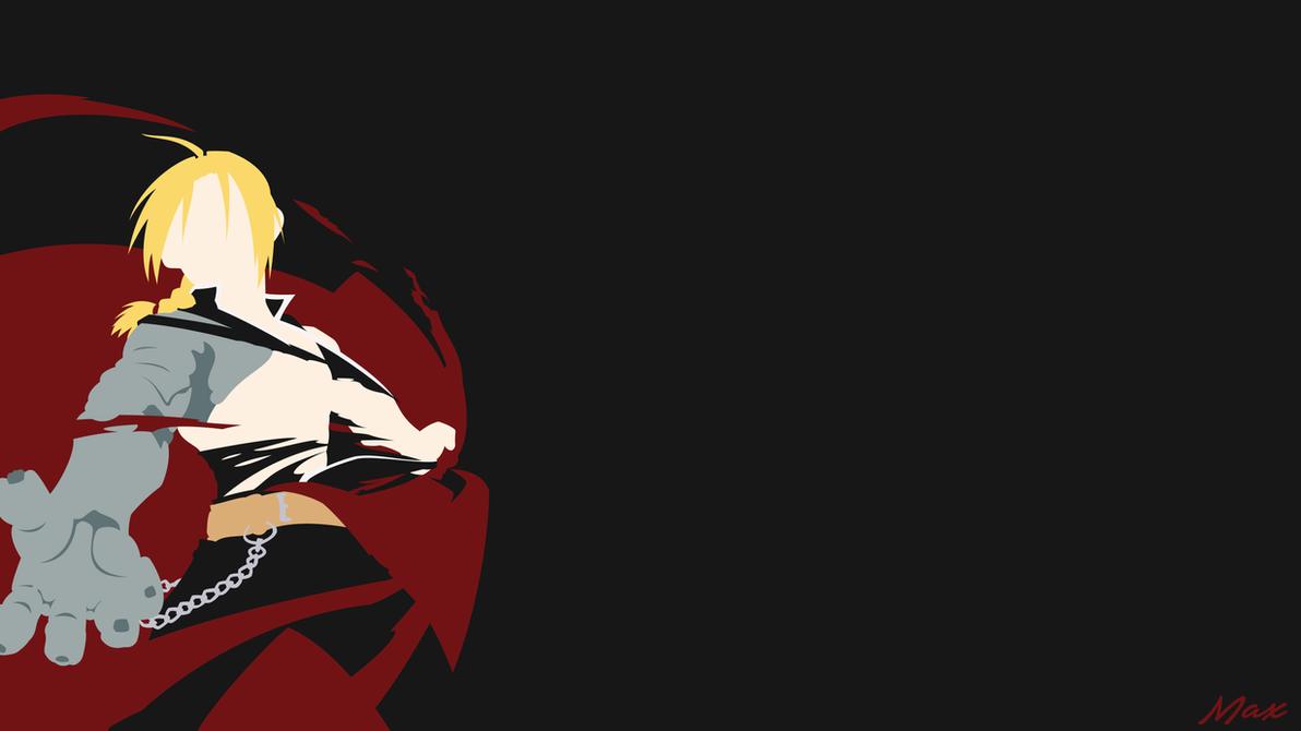 Edward Elric (Fullmetal Alchemist) Minimal Wall by Max028 ...