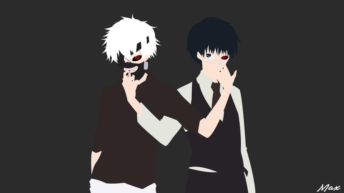 Ken Kaneki Tokyo Ghoul Minimal Wallpaper By Max028