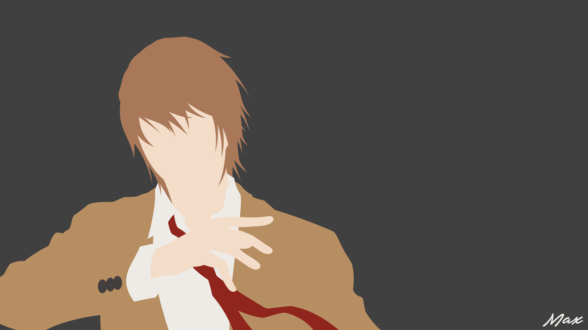 Light Yagami Death Note Minimal Wallpaper By Max028 On