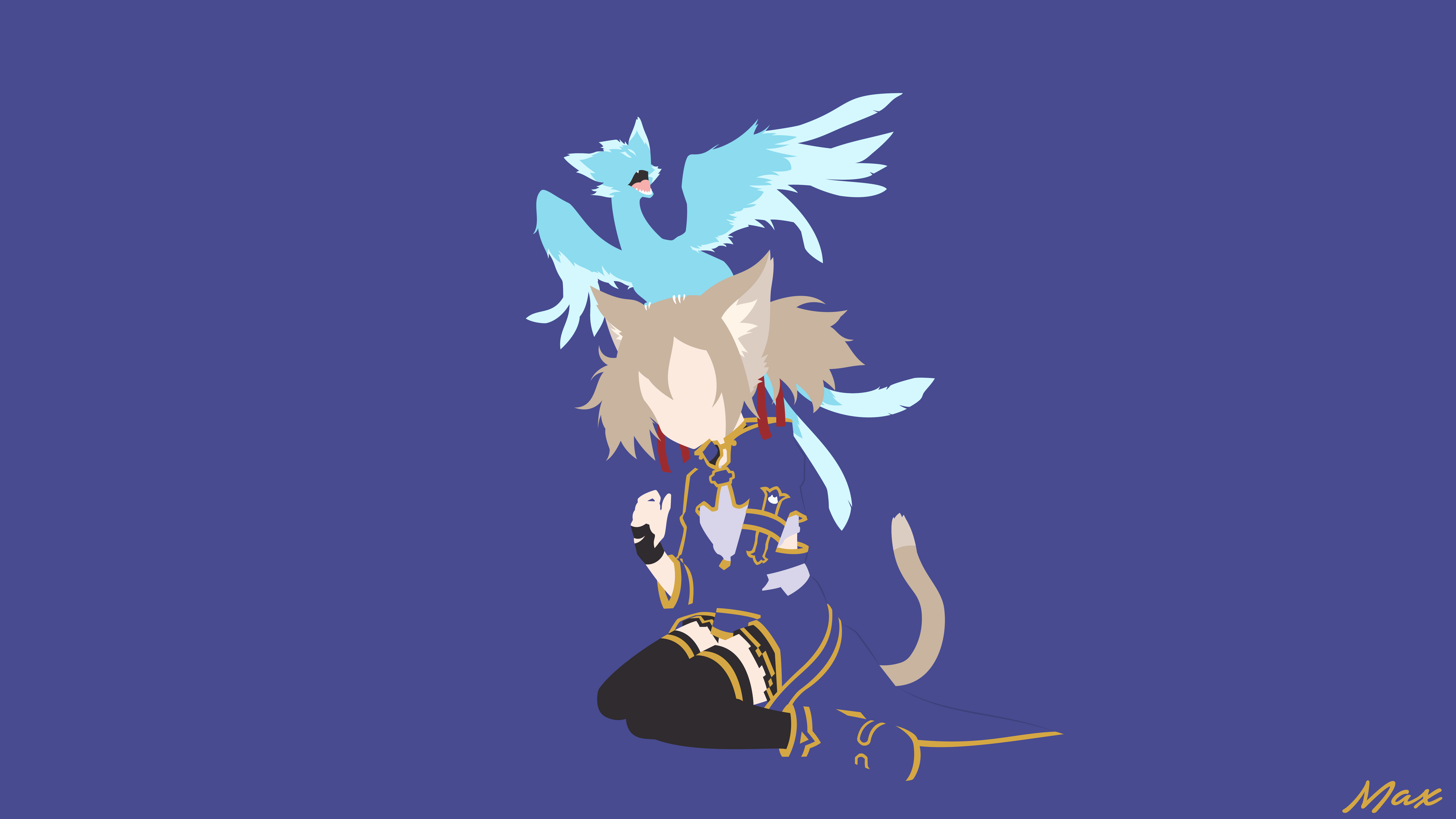 Silica [ALO] (Sword Art Online) Minimal Wallpaper by ...