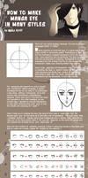 Make Manga Eye In Many Styles
