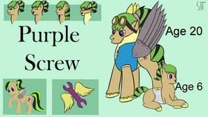New Ref - Purple Screw (One years)