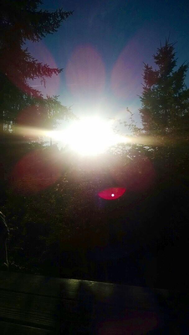 Sunset glare by arcticqueen
