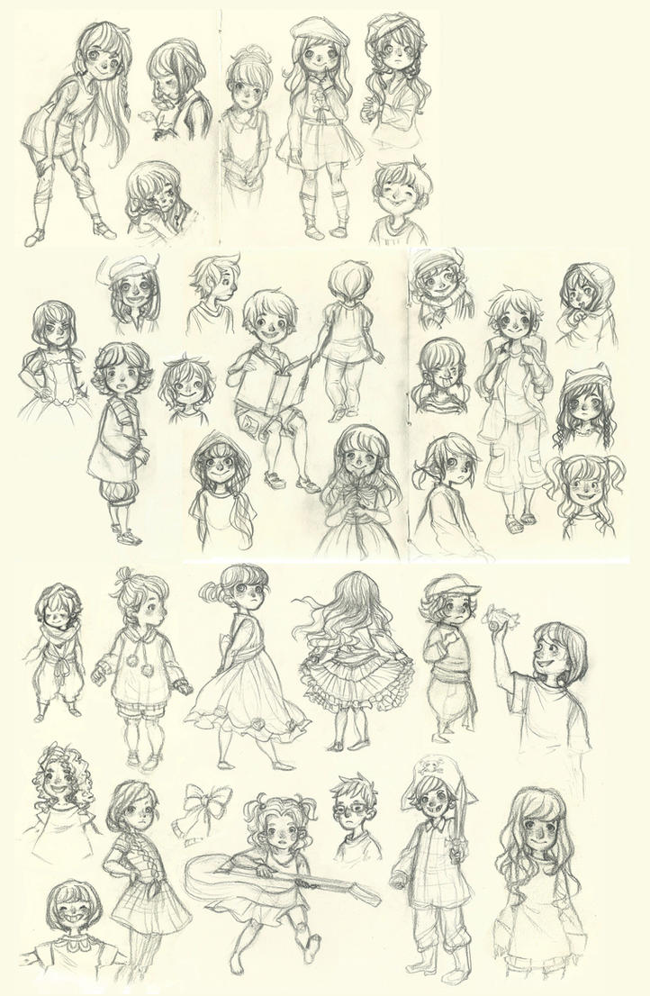 children scribbles by ehllychan - Drawing Pictures For Children