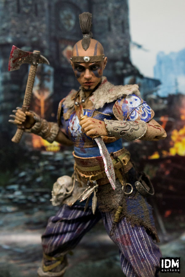 For Honor Viking Shaman 1/6 Scale Custom Figure by idmcustoms on