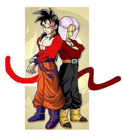 Future Gohan and Trunks SSJ4 by GalianChaos21Goku And Gohan Fusion Ssj4