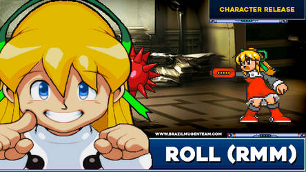 Roll playable - Robot Master Mayhem Mugen Project by OIlusionista