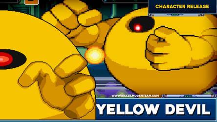 Yellow Devil - Robot Master Mayhem by OIlusionista