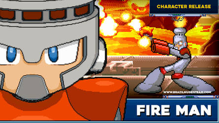 Fire Man - Robot Master Mayhem by OIlusionista