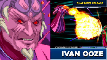 Ivan Ooze from Might Morphing Power Rangers by OIlusionista