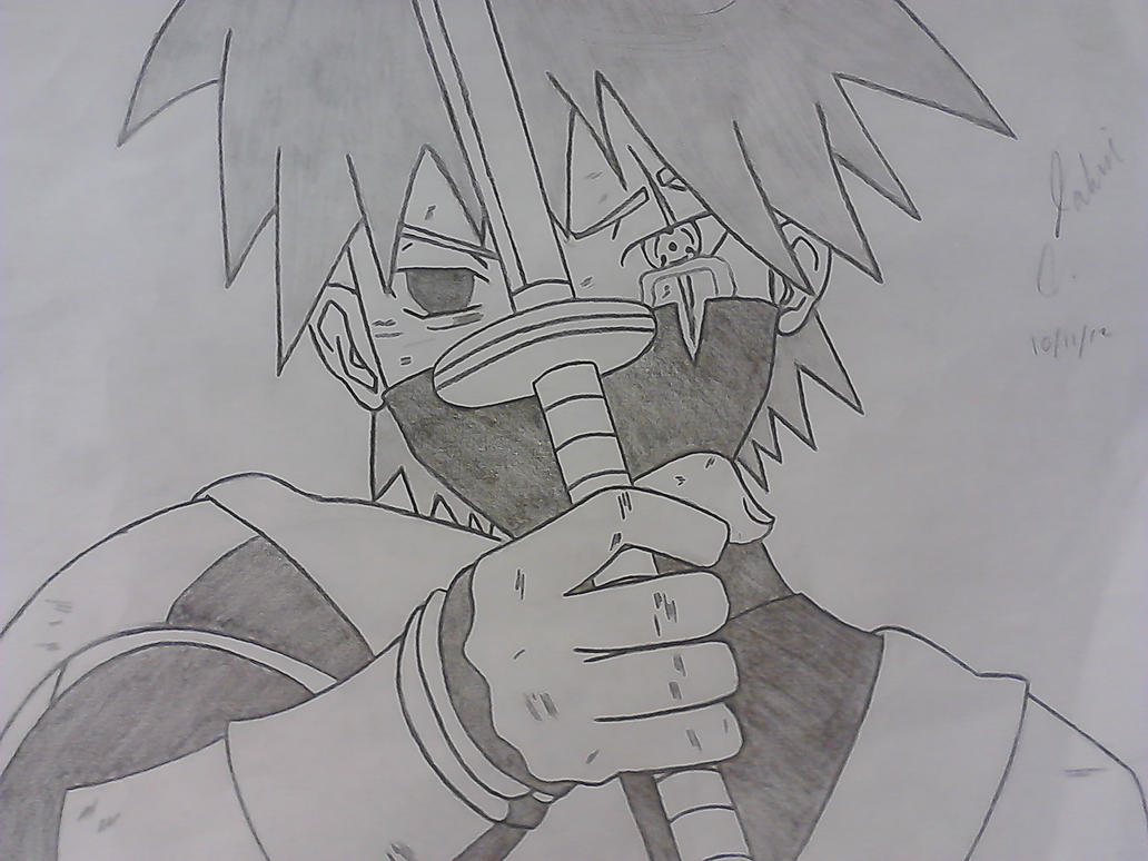 Kid Kakashi by ShanxCE on DeviantArt
