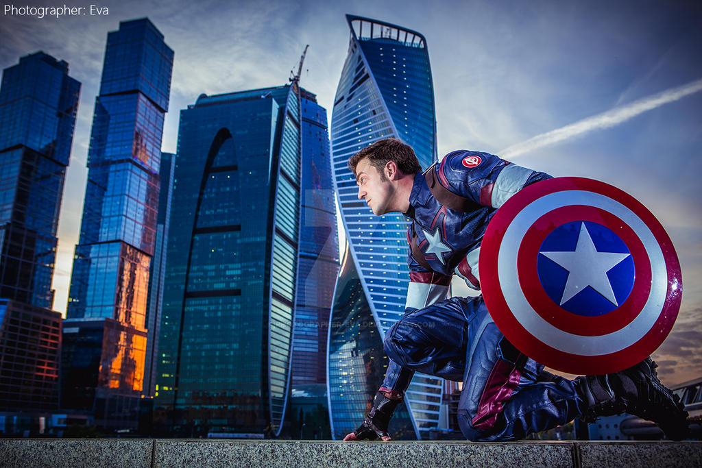 Captain America by photographer-eva