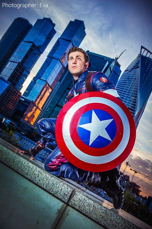 Marvel. Captain America by photographer-eva