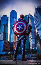Captain America. Hero
