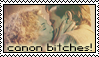 D+R Stamp - 'canon bitches' by JBoogle