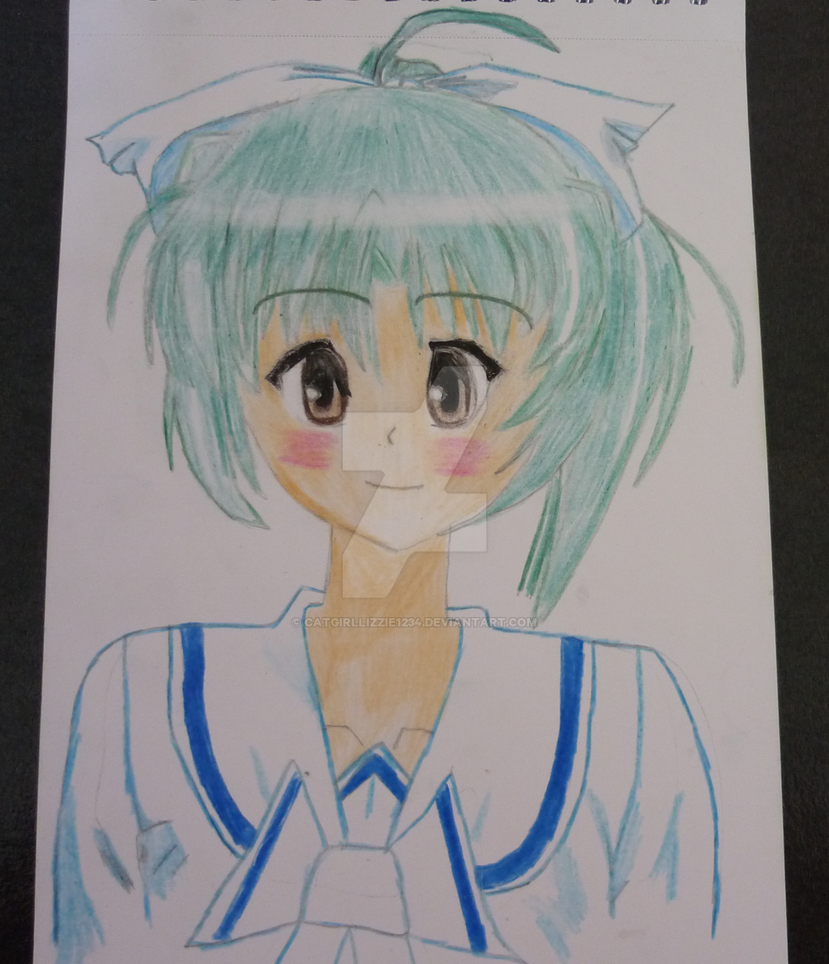 Emerald girl-Finished. by CatgirlLizzie1234